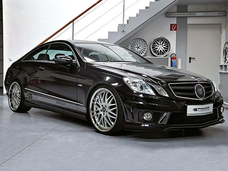 Новый Mercedes-Benz E-Class - Дуплетом