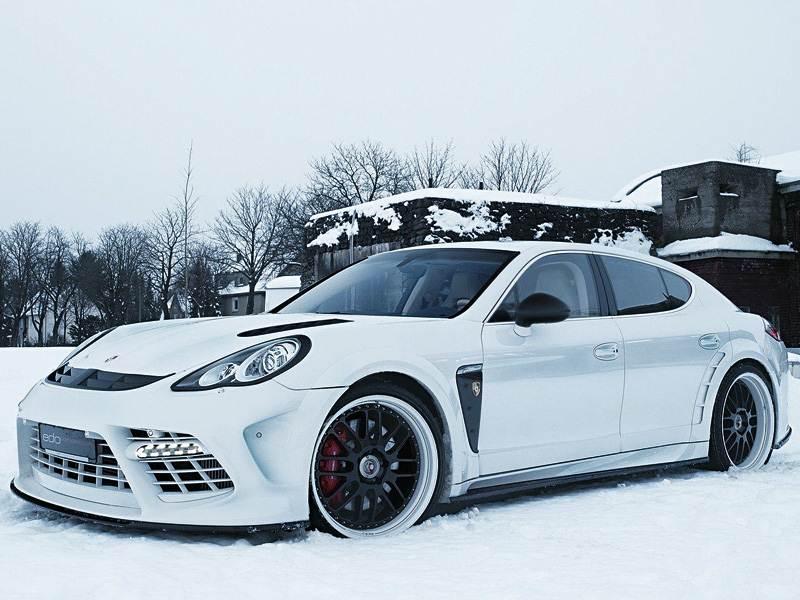 Новый Porsche Panamera - Заряд эксклюзива