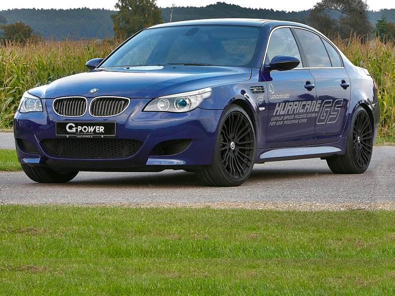 Новый BMW M5 - Самый быстрый на газе