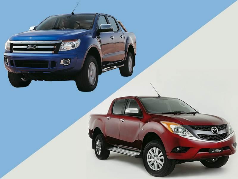 Новый Ford Ranger - Не близнецы