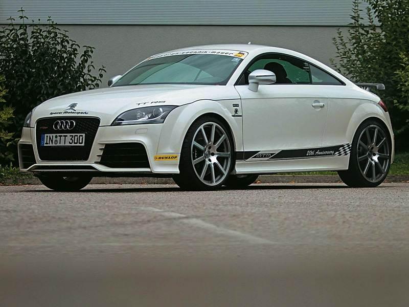 Новый Audi TT - Ракета для двоих