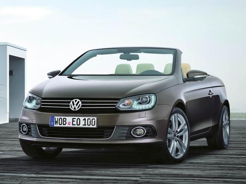Новый Volkswagen Eos - Завершающий штрих