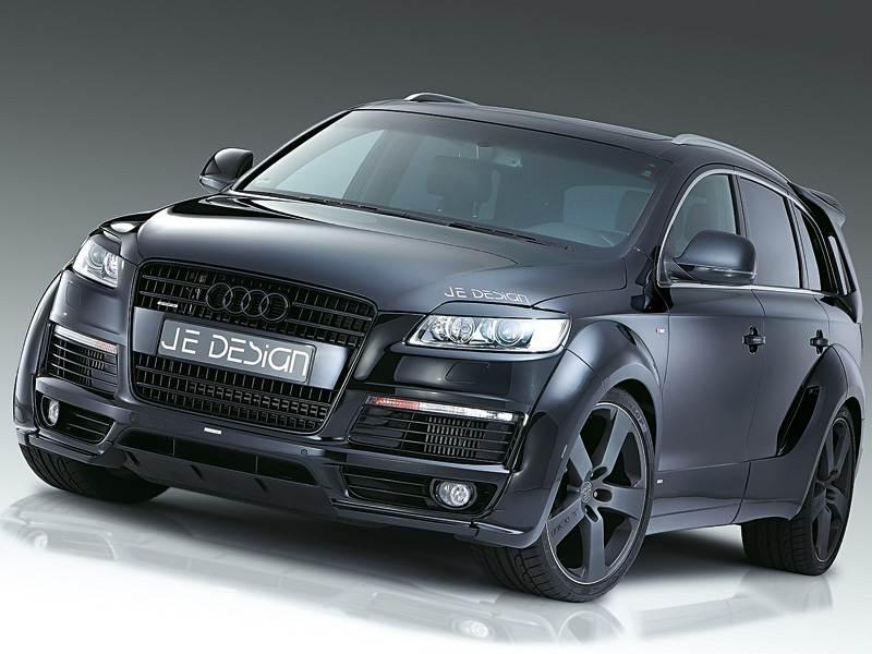 Новый Audi Q7 - Внешность и скорость
