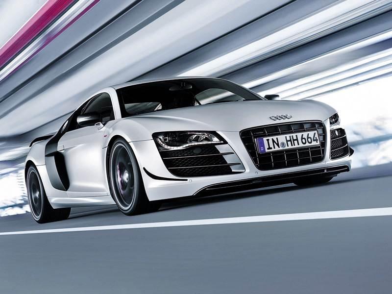 Новый Audi R8 - На понижение