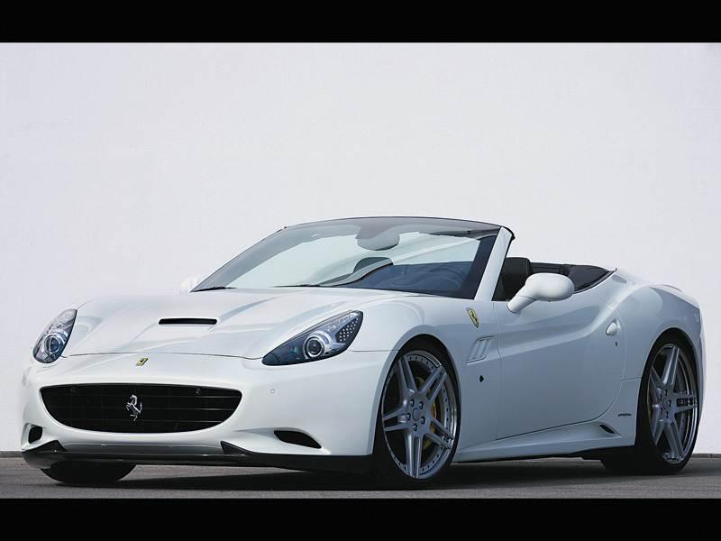 """Новый Ferrari California - Раскаленная """"Калифорния"""""""