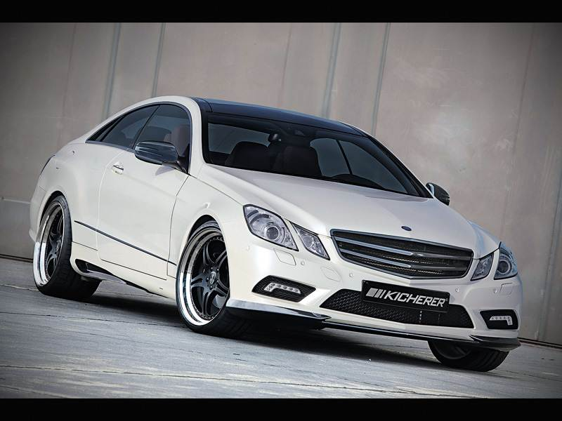 Новый Mercedes-Benz E-Class - Силовые линии