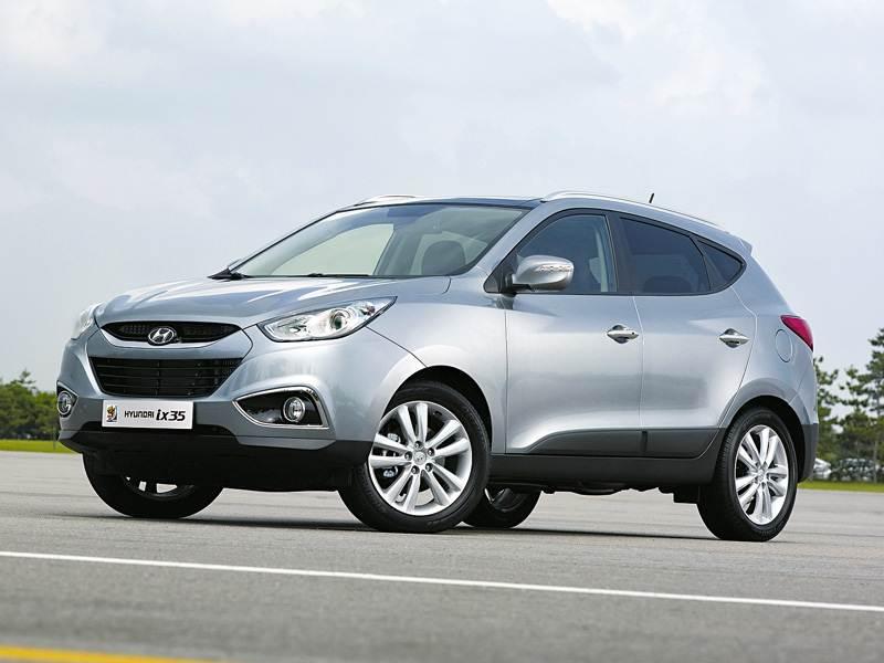 "Новый Hyundai Santa Fe - ""Hyundai ix35"" и ""Santa Fe"""
