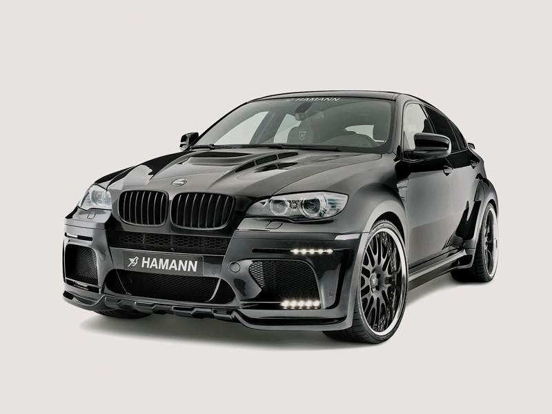 Новый BMW X6 - Боевая раскраска