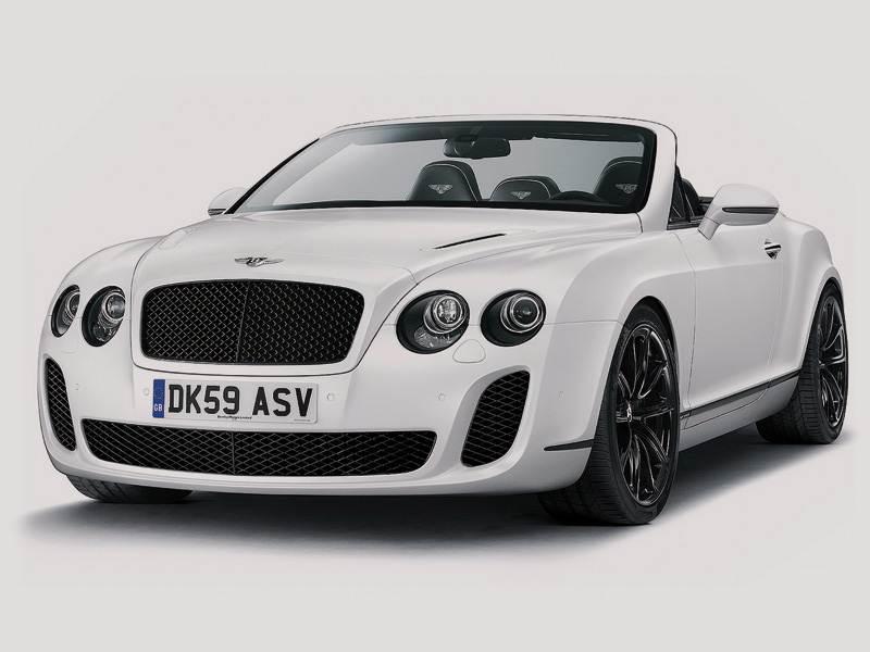 Новый Bentley Continental Supersports - Теперь на четверых