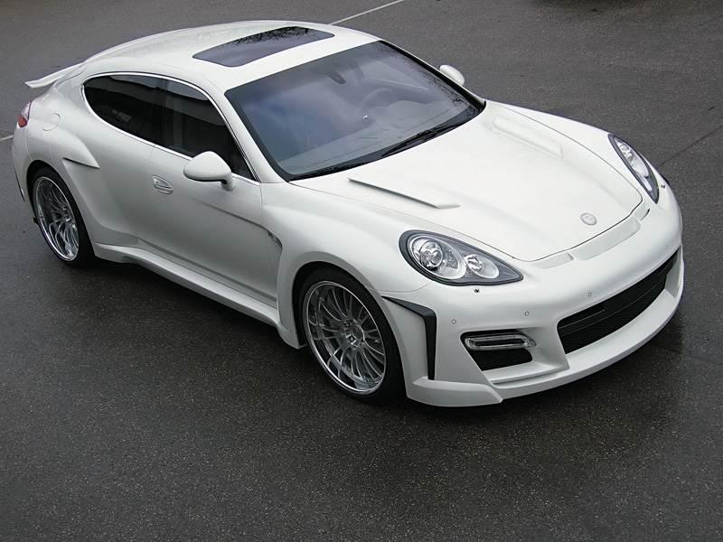 Новый Porsche Panamera - Некоторые любят поспортивнее