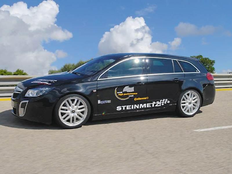 """Новый Opel Insignia - Самый быстрый из """"Опелей"""""""