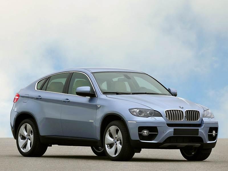 """Новый BMW X6 - """"BMW ActiveHybrid X6"""""""