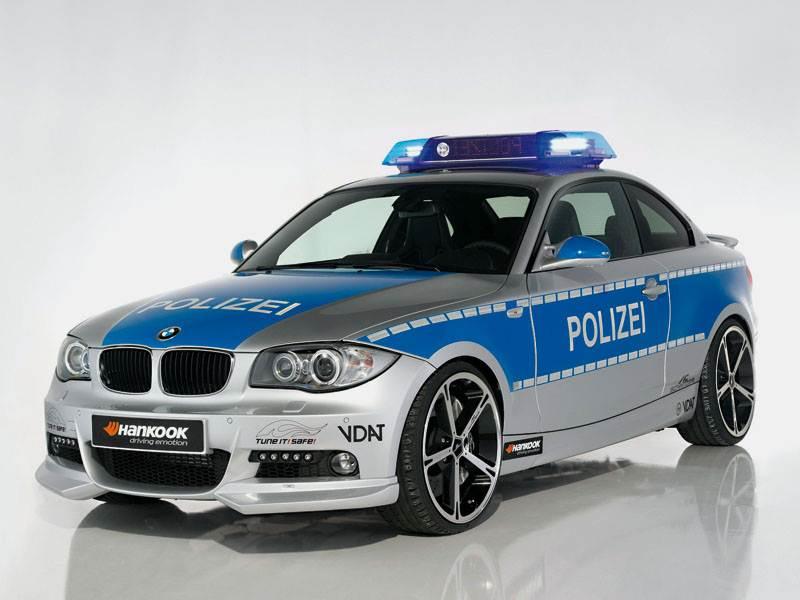 Новый BMW 1 series - Полицейские старты