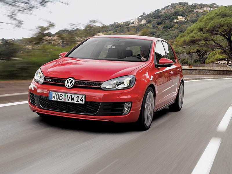 Новый Volkswagen Golf - Volkswagen Golf GTI