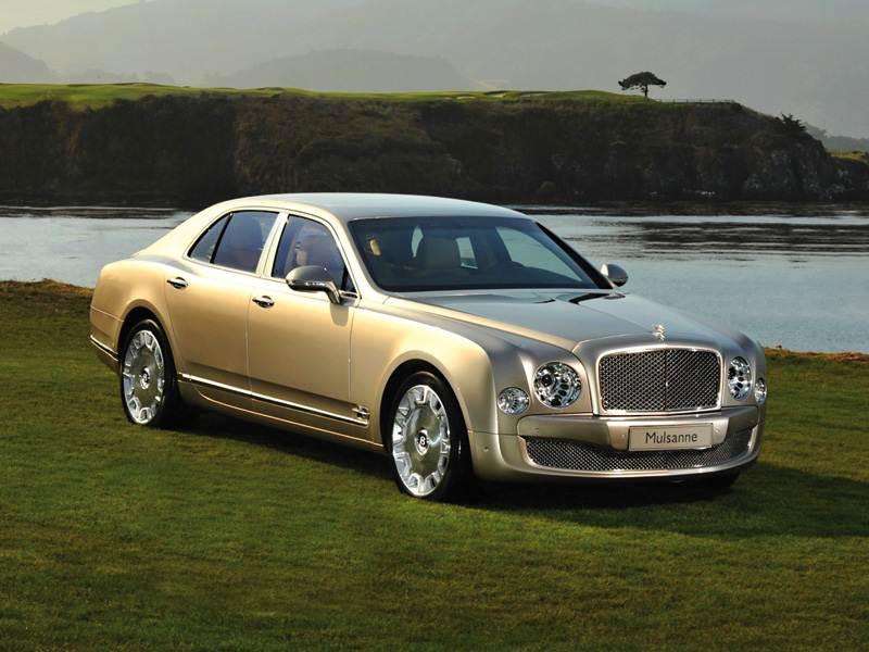 Новый Bentley Mulsanne - Ничего общего