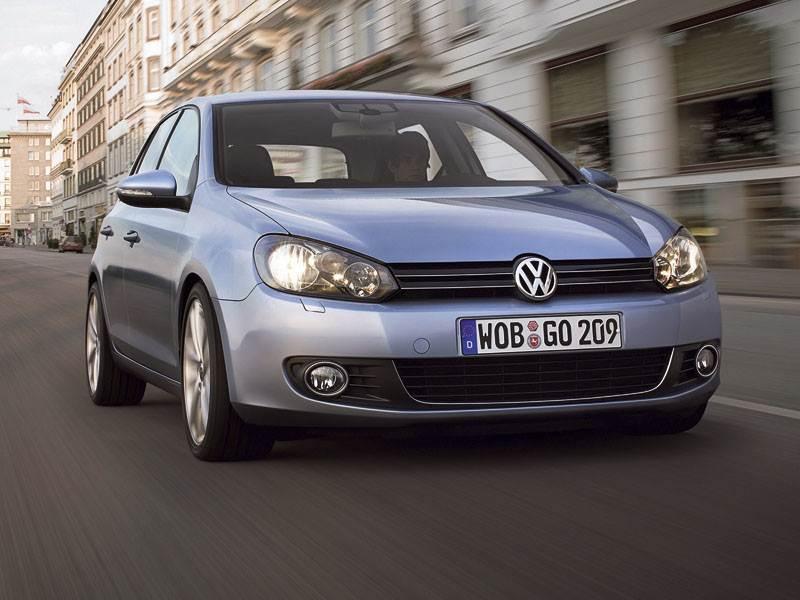 """""""Volkswagen"""" представил новое поколение """"Golf VI"""""""