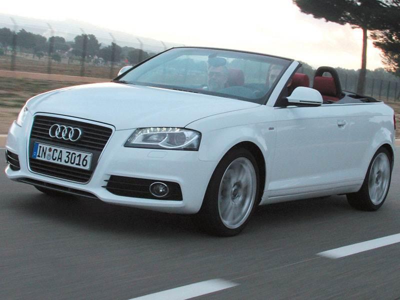 Audi A3 Cabrio и RS6 Avant