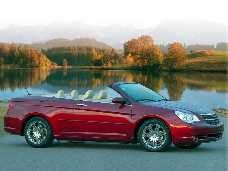 """Новый Chrysler Sebring - """"Chrysler Sebring"""": три типа складной крыши"""