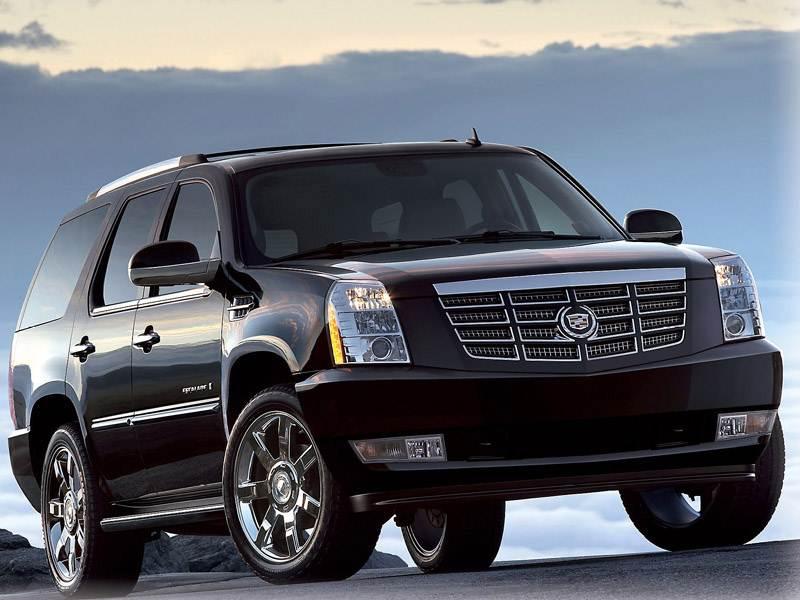 Новый Cadillac Escalade - Внедорожник во фраке