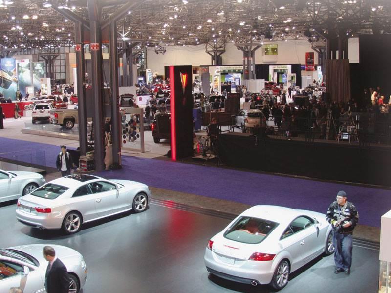 Нью-Йоркское автошоу 2008: Всемирный котел