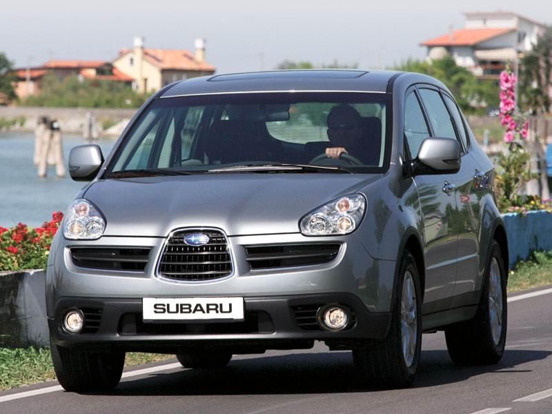 """Новый Subaru Tribeca - """"Subaru"""" входит в новый класс"""