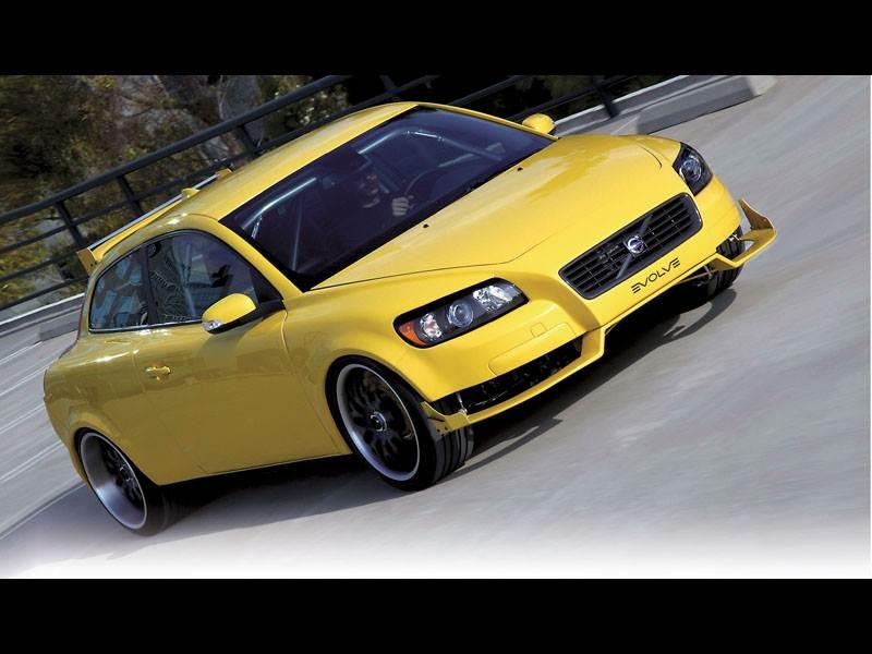 Новый Volvo C30 - 507 сил для малого класса