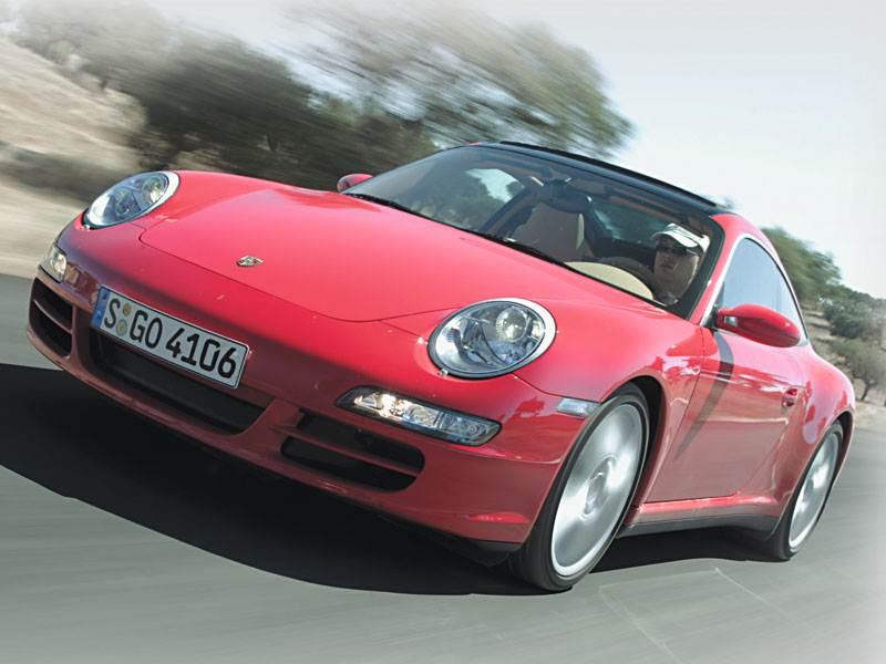 "Новый Porsche 911 Targa 4 - Двойняшки от ""Porsche"""