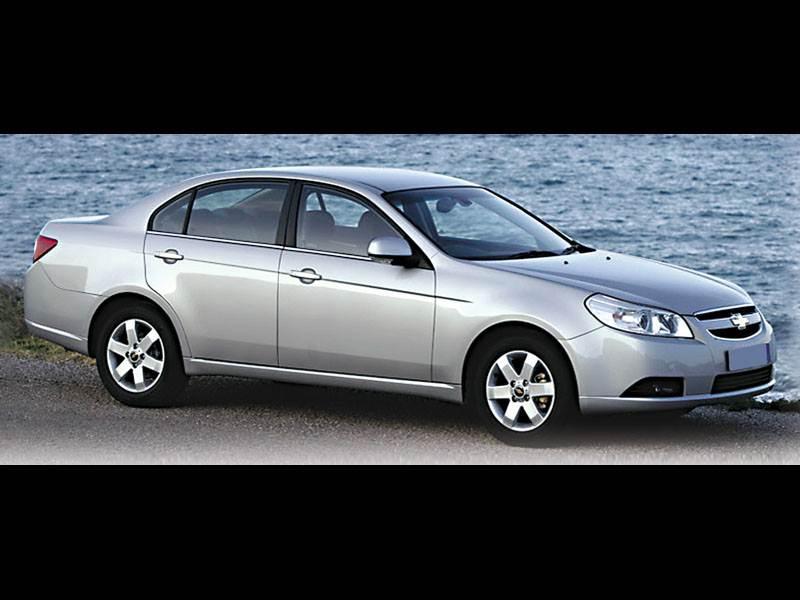 "Новый Chevrolet Epica - Дубль от ""Chevrolet"""