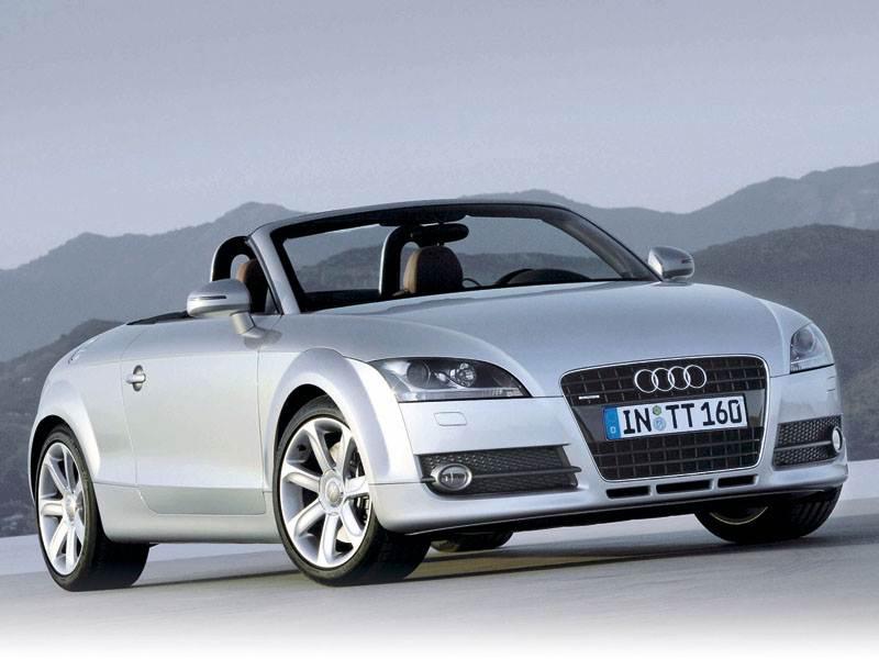 Новый Audi TT - Убрать за 12 секунд