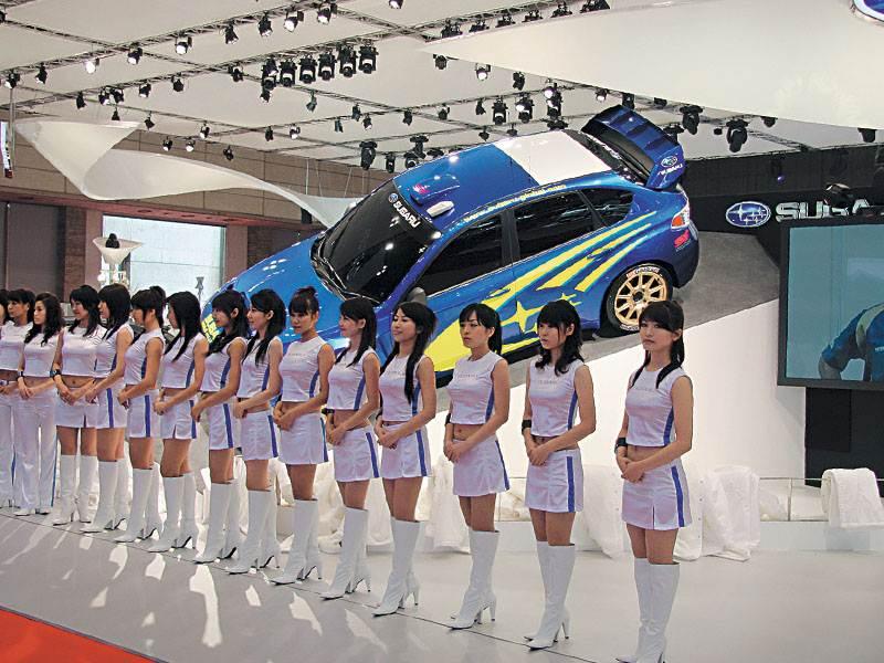Токийское моторшоу 2007: спортивные автомобили
