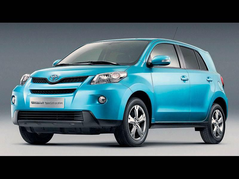 Новый Toyota Urban Cruiser - Scion для Европы
