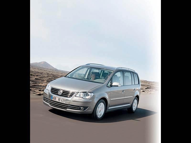 """Новый Volkswagen Touran - """"Touran"""", который паркуется сам"""