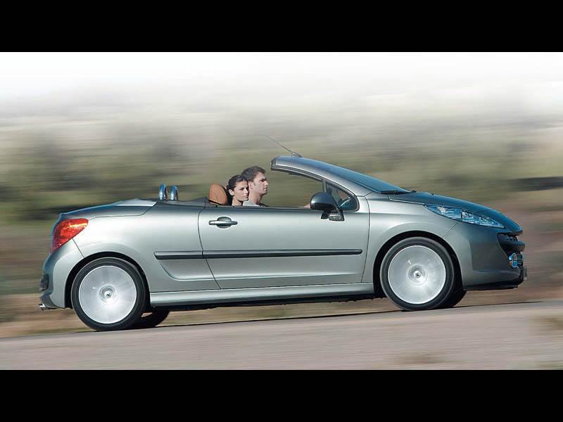 """Новый Peugeot 207 - """"Peugeot 207 CC"""""""