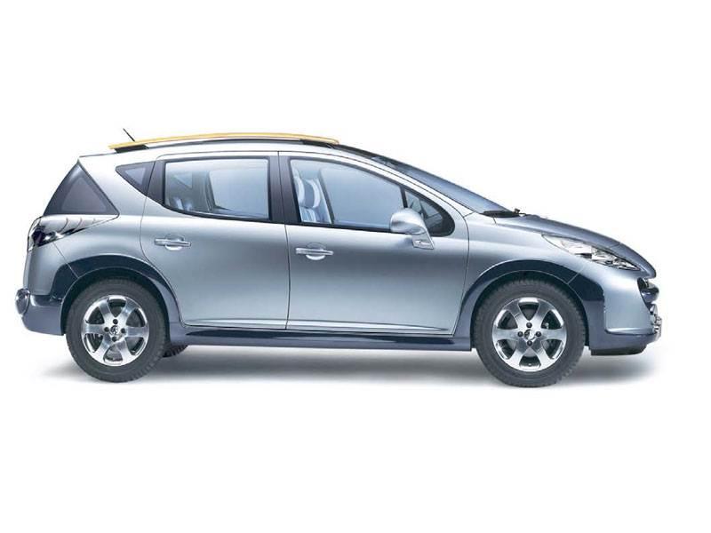 "Новый Peugeot 207 - ""Peugeot 207"" готов к ""off-road""?"