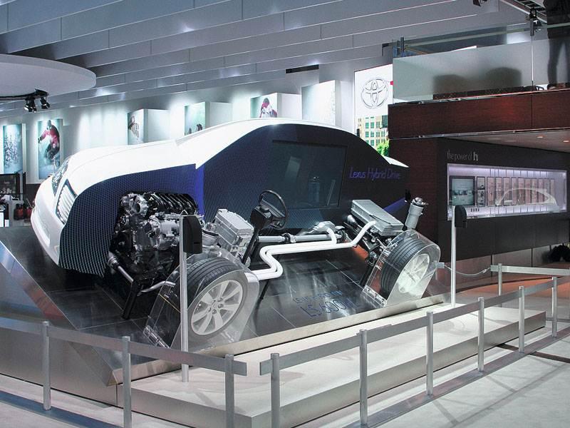 Детройтское автошоу 2007: спортивные машины