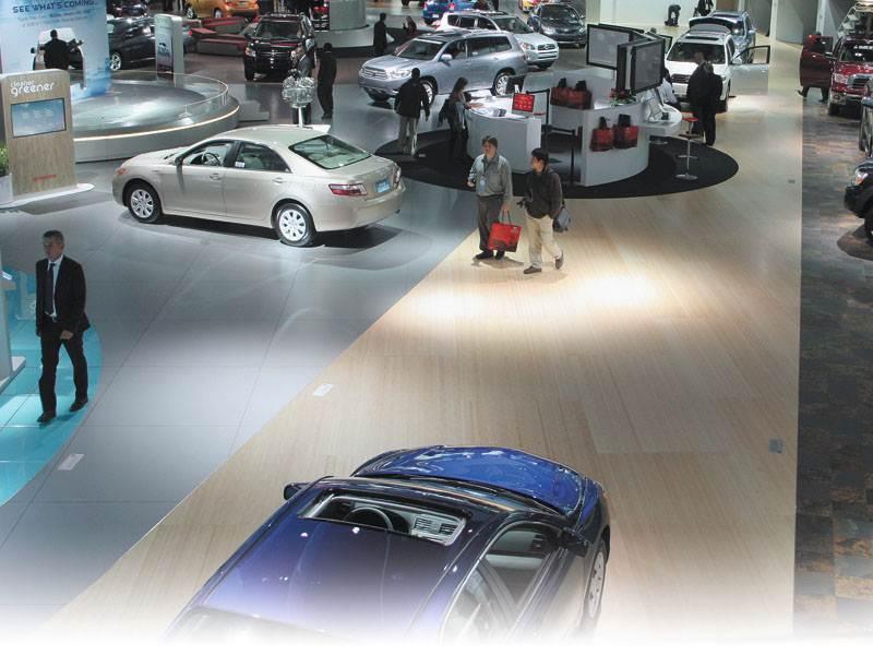 Детройтское автошоу 2007: легковые автомобили