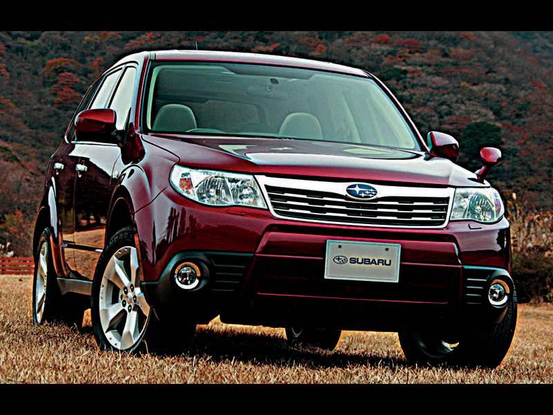 Новый Subaru Forester - Subaru Forester - Третье поколение стартовало