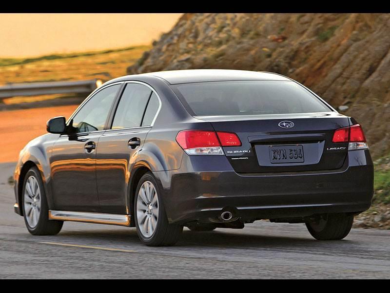 """Новый Subaru Legacy - Дуэт от """"Subaru"""""""