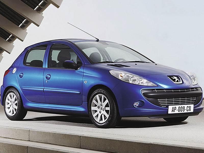 Малолитражки второго эшелона (Peugeot 206, Renault Clio II, Fiat Punto) 206 поколение I
