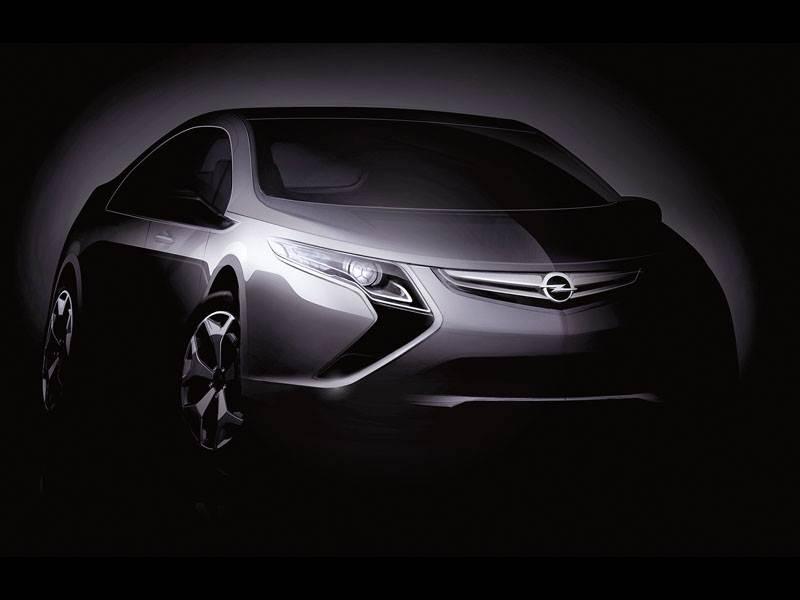 """Новый Opel Ampera - От """"Вольта"""" до """"Ампера"""""""