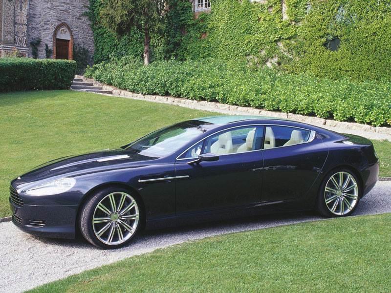 """Новый Aston Martin Rapide - Первые снимки """"Rapide"""""""