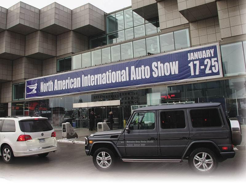 Детройтское автошоу 2009: внедорожники