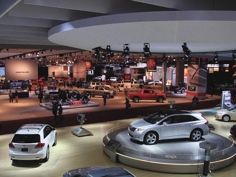 Детройтское автошоу 2009: легковые автомобили