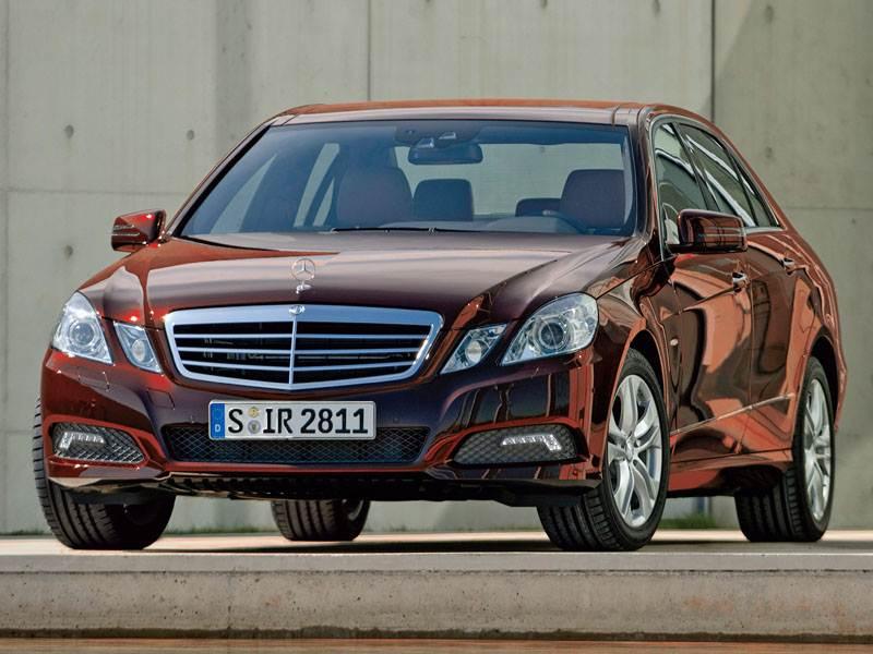 """Антикризисная идеология нового """"Mercedes-Benz"""" E-класса"""