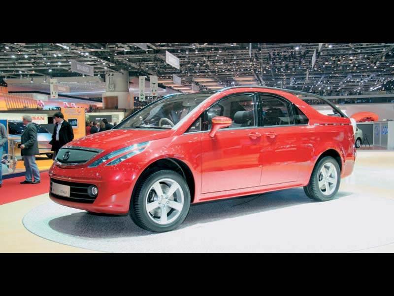 Женевский автосалон 2006: Индия разрабатывает Кроссовер