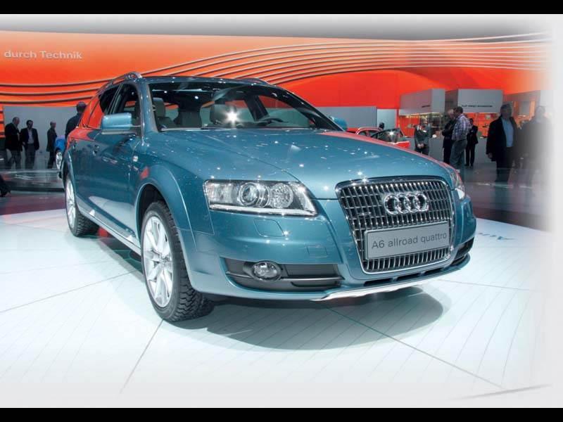 """Женевский автосалон 2006: Вседорожный """"Audi"""""""