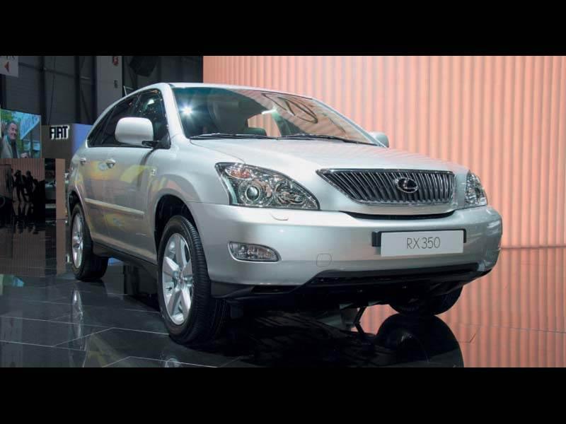 """Женевский автосалон 2006: Новый мотор для """"Lexus RX"""""""