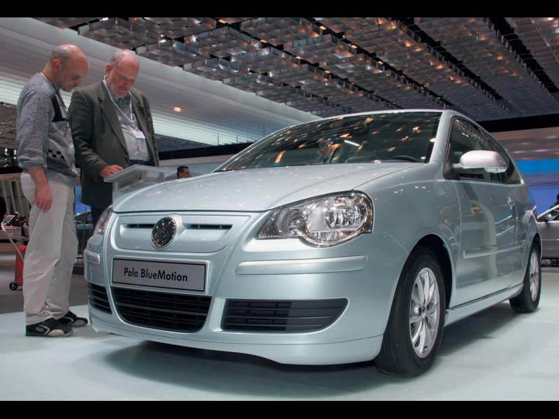 "Женевский автосалон 2006: Volkswagen"" за синее небо"