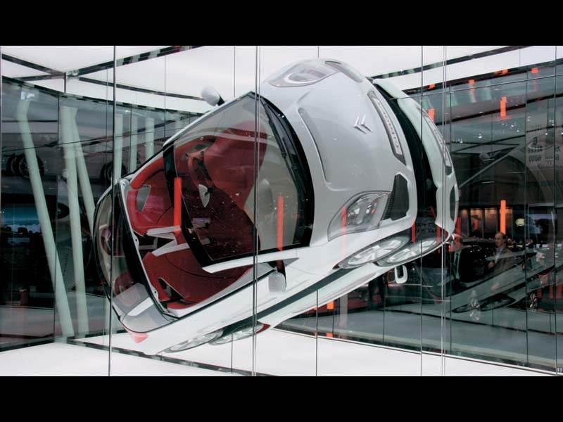 Женевский автосалон 2006: Автомобиль из воздуха
