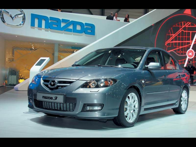 """Женевский автосалон 2006: """"Mazda 3"""": дальнейшее развитие"""